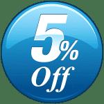 5 Prozent Rabatt auf Backlinkaufbau bei ProvenSeo - digitale Marketing und WordPress SEO Agentur